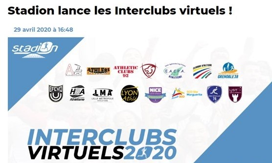 INTERCLUBS VIRTUELS 2020