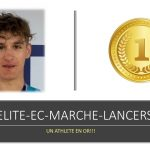 FRANCE ELITE-EC-MARCHE-LANCERS LONGS  :  UN ATHLETE EN OR